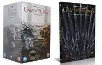 Game of Thrones The Complete Series Seasons 1-8 DVD Box Set 37 Disc
