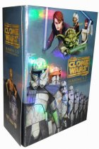 Star The Clone Wars Seasons 1-6 DVD 22 Dsic Box Set Free Shipping