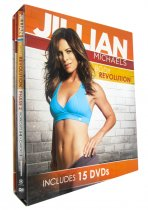 JILLIAN MICHAELS BODY REVOLUTION 15 DVD SET Phase 1, 2 & 3 +FREE Fitness BONUSES
