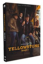 Yellowstone The Complete Season 2 DVD Box Set 4 Disc Free Shipping