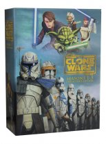 Star Wars the Clone Wars Seasons 1-5 + The Lost Mission DVD 22 Dsic Set