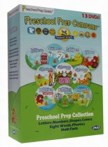 Preschool Prep Company Collection Series 13 DVD Box Set Free Shipping