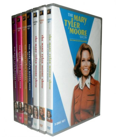 The Mary Tyler Moore Show Complete Seasons 1-7 22 DVD Box Set Free Shipping