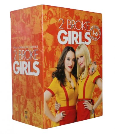 Broke Girls The Complete Series Seasons 1-6 DVD Box Set 17 Dsic Breaking