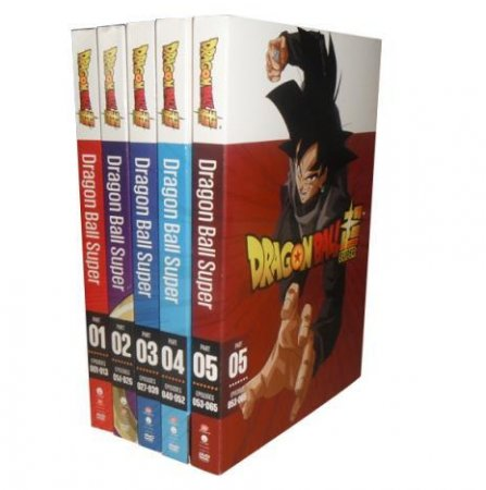 Dragon Ball Super The Complete Seasons 1-9 DVD Box Set 18 Disc