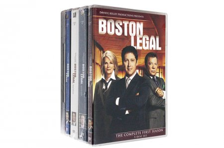 Boston Legal Complete Collection Seasons 1-5 DVD Box Set 28 Disc