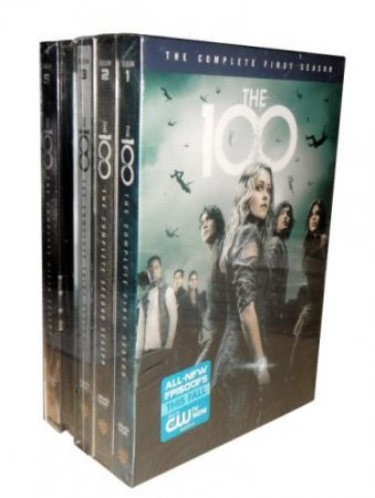 The 100 The Complete Seasons 1-5 DVD Box Set 17 Disc Free Shipping