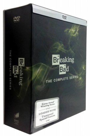Breaking Bad The Complete Series Seasons 1-6 DVD Box Set 21 Dsic Free Shipping