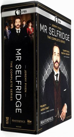 Mr Selfridge The Complete Series Seasons 1-4 DVD Box Set 12 Disc