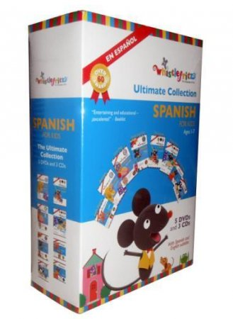 Whistlefritz, Spanish for kids the ultimate collection 5DVD+3CD Box Set