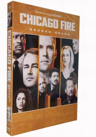 Chicago Fire Season 7 DVD Box Set 5 Disc Free Shipping