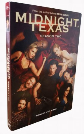Midnight, Texas The Complete Series Seasons 1-2 DVD Box Set 5 Disc