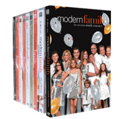 Modern Family The Complete Series Seasons 1-10 DVD Box Set 31 Disc