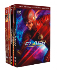 The Flash The Complete Seasons 1-5 DVD Box Set 25 Disc Free Shipping