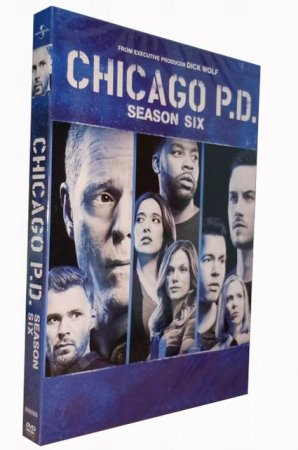 Chicago PD Season 6 DVD Box Set 5 Disc Free Shipping