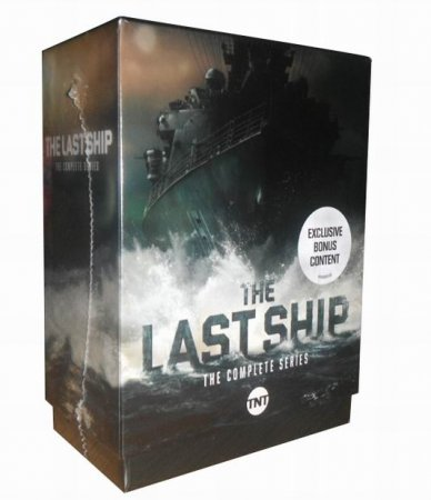 The Last Ship The Complete Series Seasons 1-5 DVD Box Set 15 Disc
