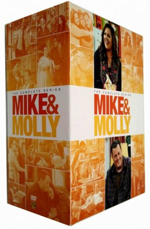 Mike & Molly The Complete Seasons 1-6 DVD Box Set 18 Disc Free Shipping