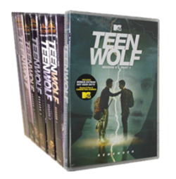 Teen Wolf The Complete Series Seasons 1-6 DVD Box Set 27 Disc Free Shipping