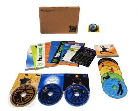 Beachbody Tai Cheng Workout Base Kit Workout Fitness 8 DVD Set