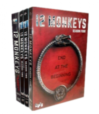12 Monkeys The Complete Seasons 1-4 DVD Box Set 12 Disc