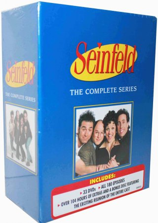 Seinfeld The Complete Series Seasons 1-9 DVD Box Set 33 Disc Free Shipping