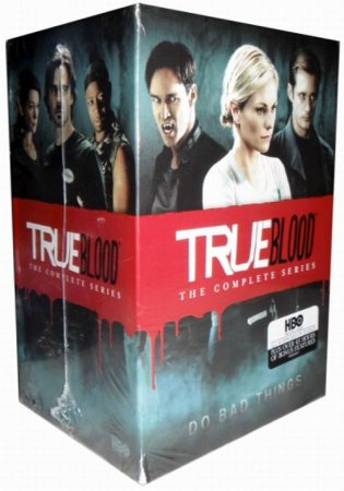 True Blood The Complete Series Seasons 1-7 DVD Box Set 33 Disc Free Shipping