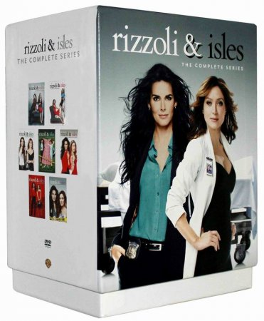 Rizzoli & Isles The Complete Series Seasons 1-7 DVD 24 Disc Box Set Free Shipping