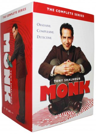 Monk The Complete Series Seasons 1-8 DVD Box Set 32 Disc Free Shipping