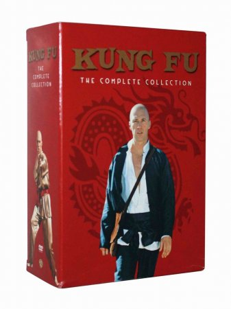 Kung Fu The Complete Series Seasons 1-3 DVD Box Set 16 Disc