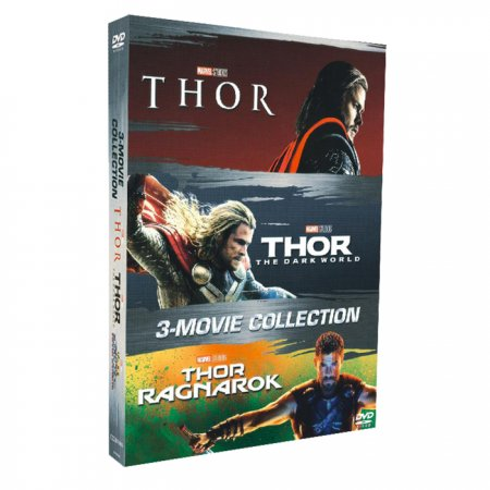 Marvel's Thor 1-3 DVD 3 Movie Collection 3 Disc