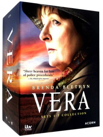Vera The Complete Series Seasons 1-8 DVD Box Set 30 Disc Free Shipping