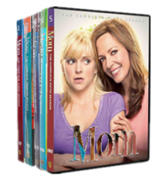 Mom The Complete Series Seasons 1-5 DVD Box Set 15 Disc Free Shipping