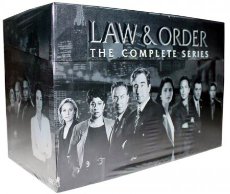 Law & Order The Complete Series Seasons 1-20 DVD 104 Disc Box Set Free Shipping