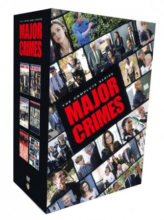 Major Crimes The Complete Series Seasons 1-6 DVD Box Set 23 Disc Free Shipping