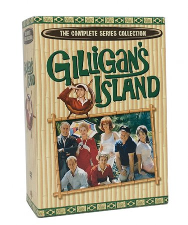 Gilligan's Island The Complete Series DVD Box Set 17 Disc Free Shipping
