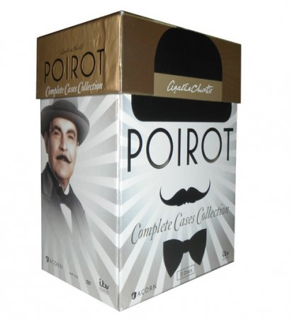 Agatha Christie's Poirot Complete Cases Collection 33 DVD Box Set Free Shipping