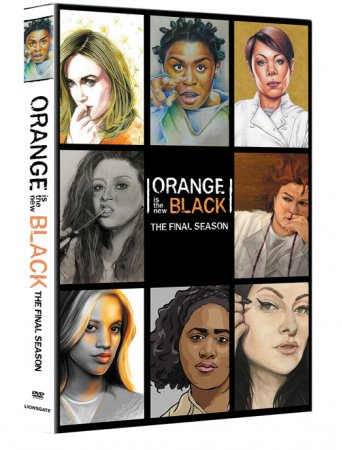Orange Is the New Black Season 7 DVD Box Set 4 Dsic Free Shipping