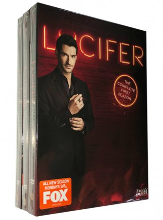 Lucifer The Complete Series Seasons 1-4 DVD Box Set 12 Disc Free Shipping