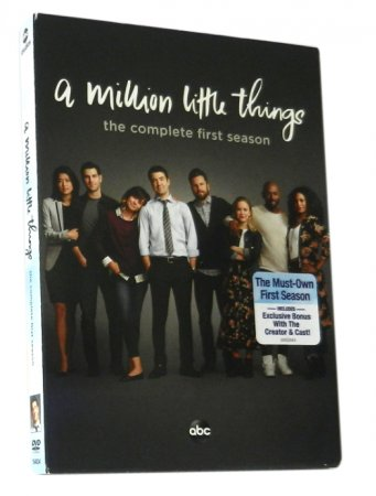 A Million Little Things Season 1 DVD Box Set 4 Disc