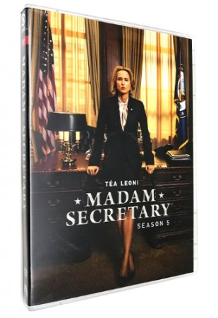 Madam Secretary Season 5 DVD Box Set 5 Disc Free Shipping