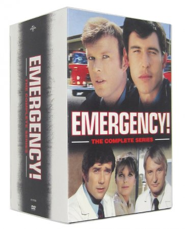 Emergency The Complete Series Seasons 1-7 DVD 32 Dsic Set