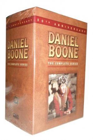 Daniel Boone The Complete Series DVD Box Set 36 Disc Free Shipping