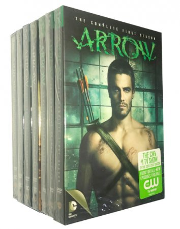 Arrow The Complete Seasons 1-7 DVD Box Set 35 Disc Free Shipping