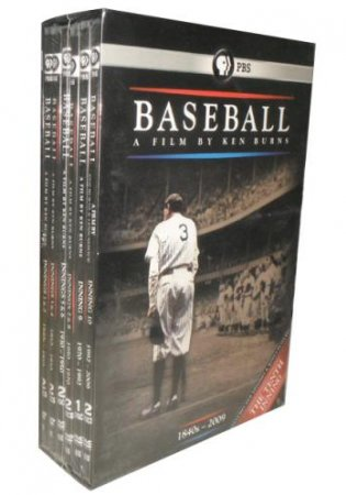 Baseball A Film by Ken Burns DVD Boxset 11 Dsic Free Shipping