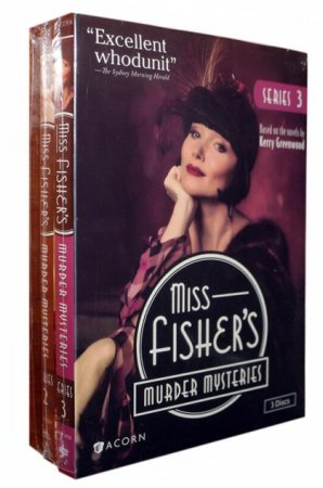 Miss Fisher's Murder Mysteries Seasons 1-3 DVD 11 Dsic Box Set Free Shipping