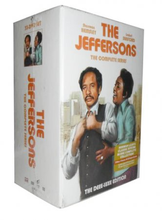 The Jeffersons The Complet Series DVD 33 Disc Set Free Shipping