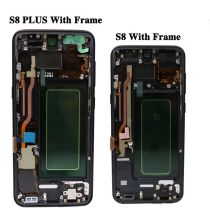 S8 PLUS OEM LCD  Digitizer with frame Assembly Replacement 5pcs