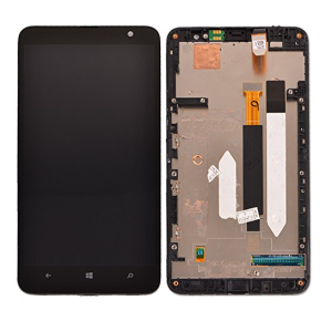 Lcd Display Touch Digitizer assembly For Nokia Lumia 1320 Free Shipping 10pcs