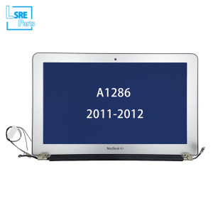 Macbook Unibody 15 inch lcd with front cover assembly for A1286 2011-2012