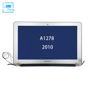 Macbook Unibody 13 inch lcd with front cover assembly for A1278 2010 3pcs